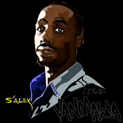 S'Alex Vector Portrait