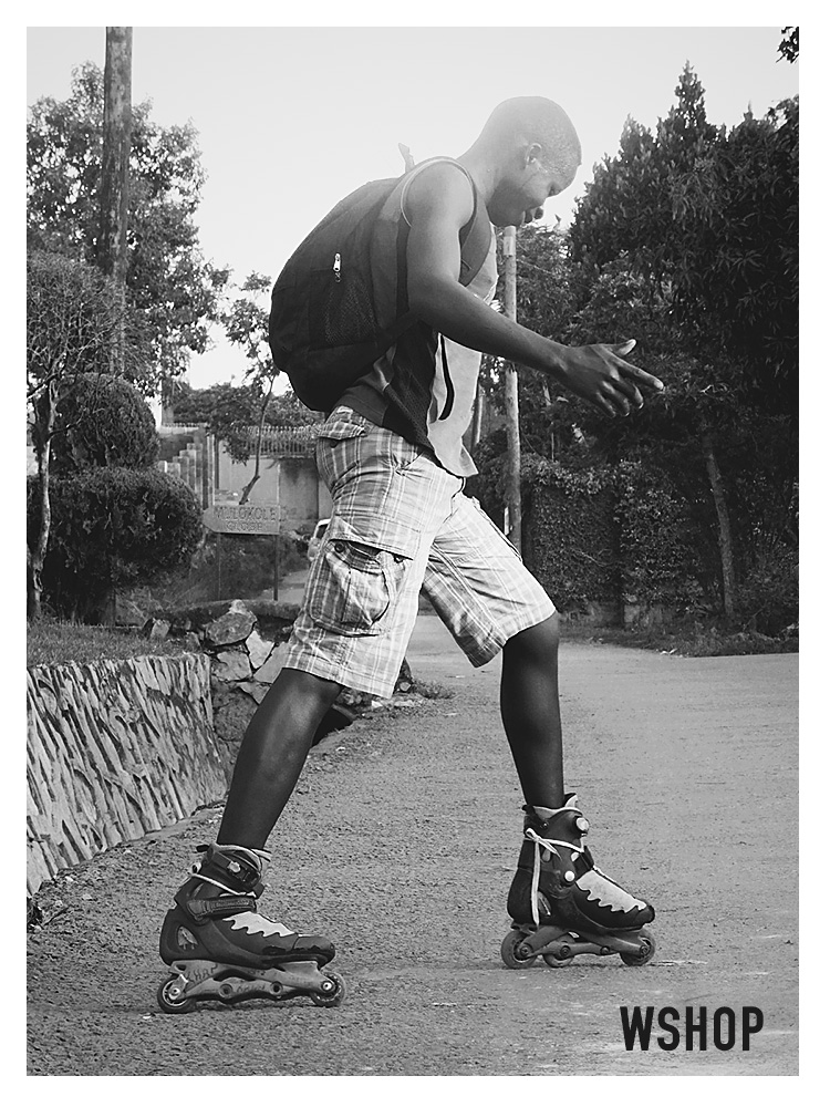 Paul; a Ugandan skater