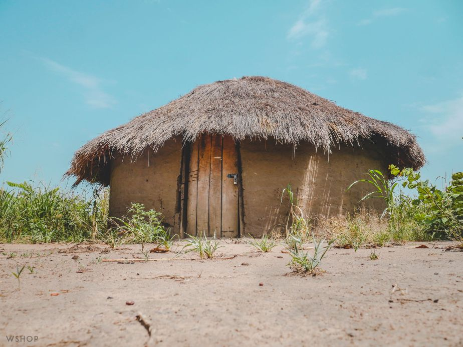 Hut in Gulu